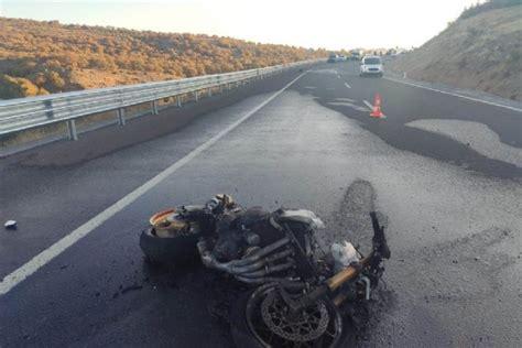 konyada motosiklet kazasi  oelue  yarali timeturk haber