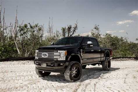 Aftermarket add ons 2017 Ford F 250 PLATINUM lifted for sale