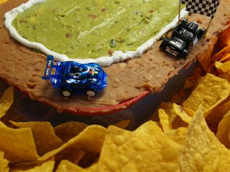 easy party foods build a snack track for race car parties