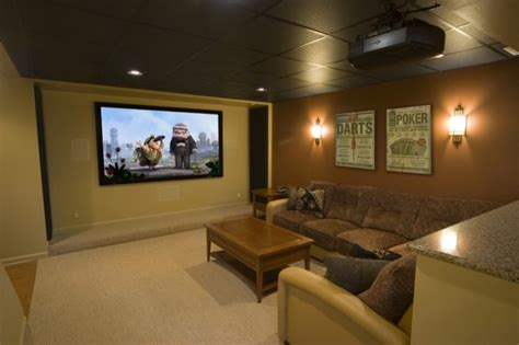 contemporary media room design ideas