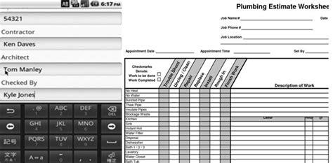Plumbing Cost Estimate by Image Gallery Plumbing Estimate