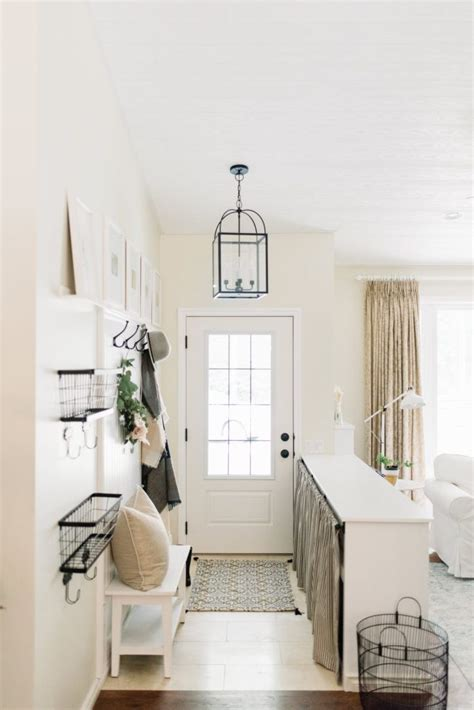 ginger home  small entryways small