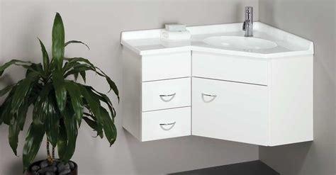 ideas to install corner bathroom vanity