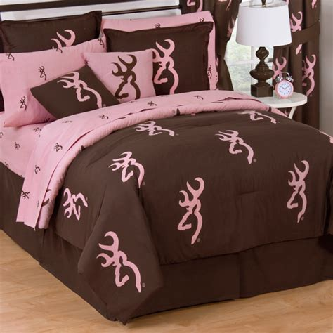 browning bed set pink camo bedding browning pink buckmark bedding
