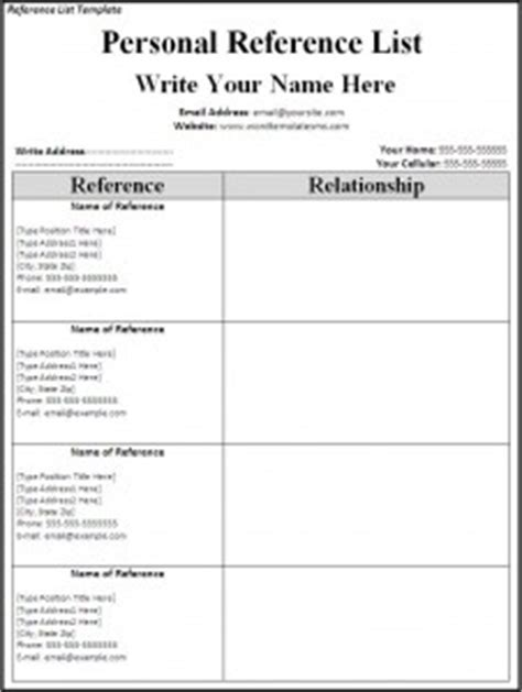 blank references page for resume search results calendar 2015