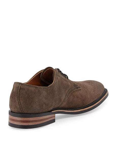trend classic suede derby grey walkover kingston suede lace up derby gray