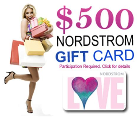 Where Can I Buy A Nordstrom Gift Card - free nordstrom s 500 gift card