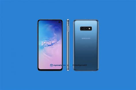 Samsung Galaxy S10 Blue by Samsung Galaxy S10 Shown In Prism Blue Color