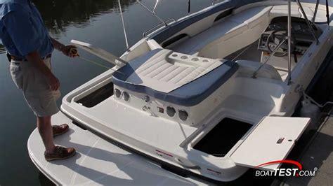 deck boat reviews 2012 bayliner 197 deck boat review by boattest youtube