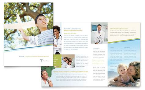 Family Physician Brochure Template Design Doctor S Office Brochure Template