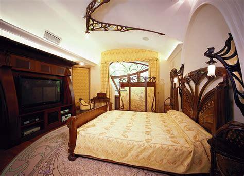 art in the bedroom art nouveau interior design style