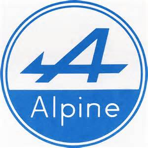 Renault Alpine Logo Alpine Story Automania