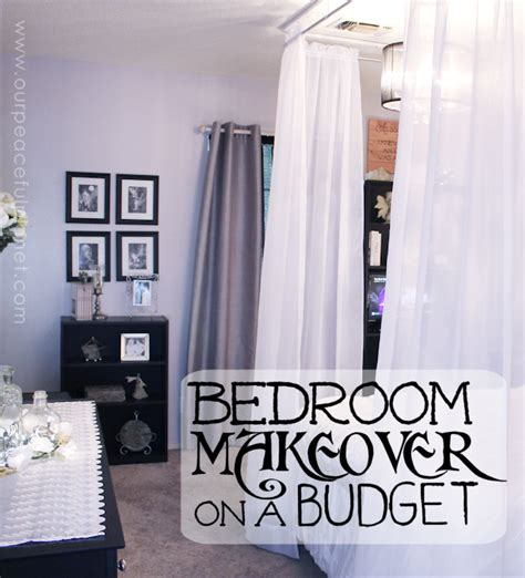 bedroom makeovers on a budget do a bedroom makeover on a budget our peaceful planet