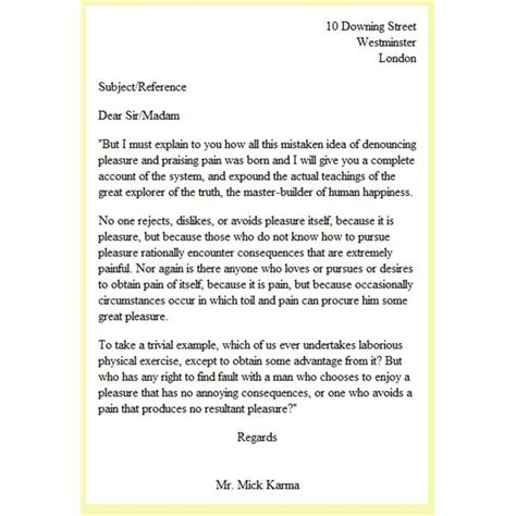 What Is Business Letter Format Look Like html explained the letter in html format