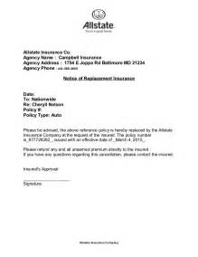 Cancellation Letter For Travel Insurance Nelson Cancellation Letter