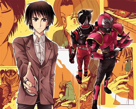 Kaos Anime Kamen Rider15 kamen rider raia kamen rider ryuki image 1199258 zerochan anime image board