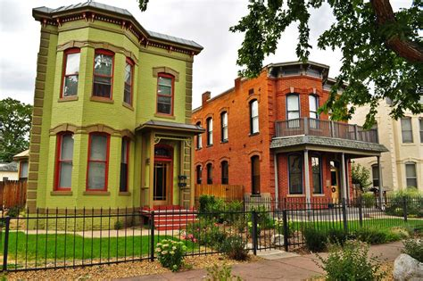 Italianate Victorian House Plans Denver S Single Family Homes By Decade 1880s