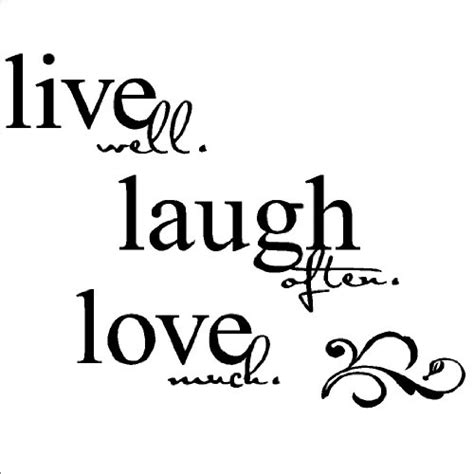 large live well laugh often love much 20 quot h x 26 quot w