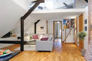 attic apartment unique loft apartment in sweden idesignarch interior