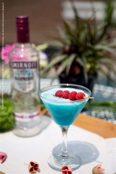 martini smirnoff smirnoff 174 raspberry dr oz raspberry vodka and frozen