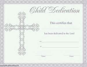 child certificate template baby dedication certificate template 19 free word pdf
