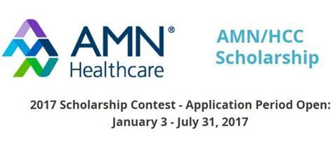Healthcare Mba Scholarships by Amn Healthcarehcc Scholarship World Scholarship Forum
