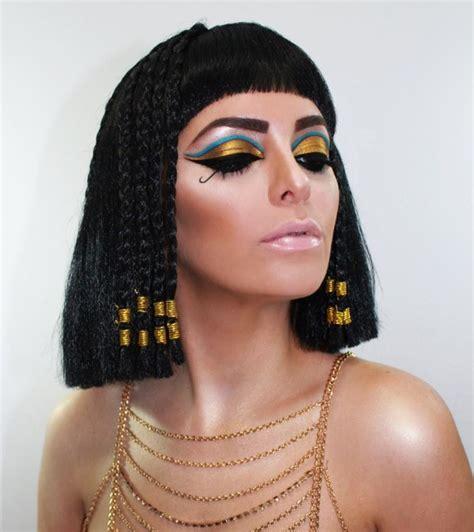 imagenes egipcio maquillaje maquillaje de cleopatra carnaval 2018 y halloween