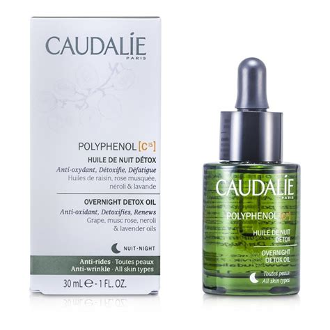 How To Detox Polythenols by Caudalie Polyphenol C15 Overnight Detox 30ml 1oz
