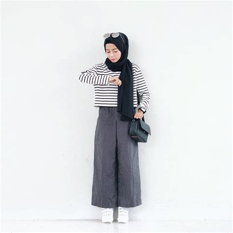 Celana Perempuan Kulot by 17 Model Celana Kulot Panjang Paling Modis Buat Remaja