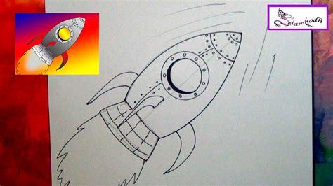 como hacer un barco dibujo facil como dibujar un cohete espacial tutorial dibujo f 225 cil para