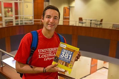 Ull Mba Curriculum by Ul Lafayette Cited In Best 381 Colleges Of