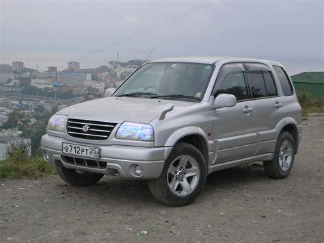 Escudo Suzuki 2000 Suzuki Escudo Pictures 2000cc Gasoline Automatic