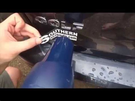 How To Take Stickers Car