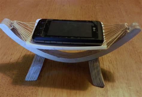 hammock mobile phone holder by ironbollocks on deviantart