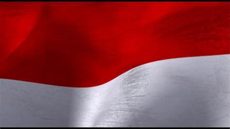 wallpaper coklat merah bendera merah putih loop animasi background bendera