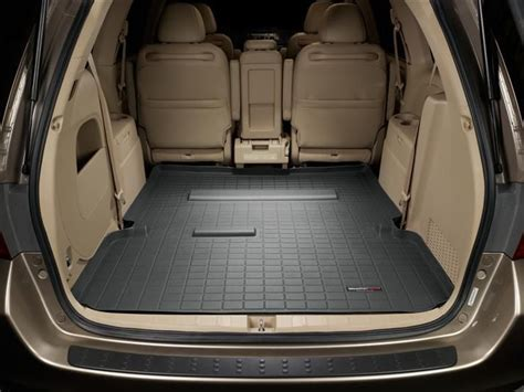 cargo mat for minivan 2006 honda odyssey cargo mat and trunk liner for cars