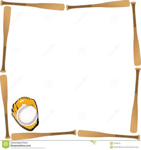 baseball card background template baseball border card stock vector illustration of white 16762575