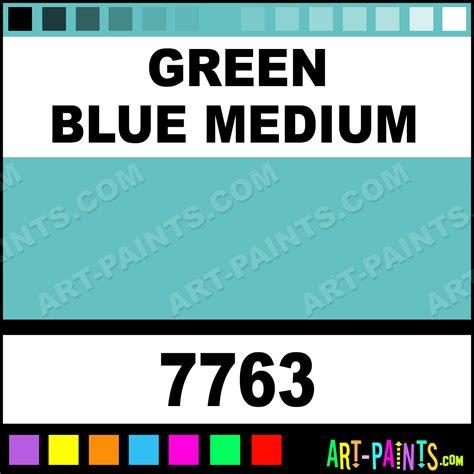 green blue paint colors green blue medium matte acrylic paints 7763 green blue medium paint green blue medium color