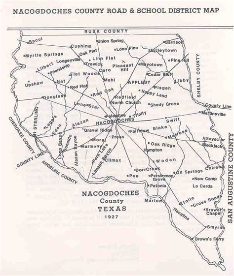 map of nacogdoches county texas cities in nacogdoches county texas