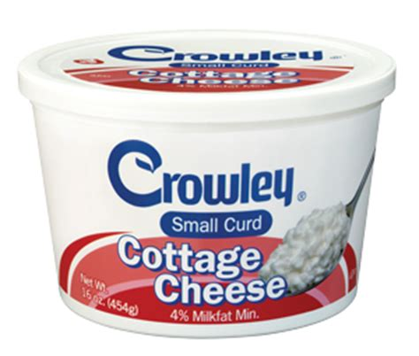 small curd cottage cheese crowley foods 174 small curd cottage cheese