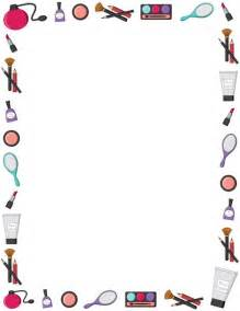printable makeup border free gif jpg pdf and png downloads at http pageborders org
