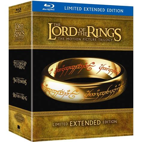 The Lord Of The Rings Trilogy Extended Edition On Blu Ray | the lord of the rings trilogy extended edition blu ray