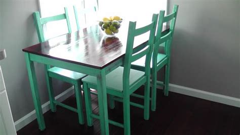 Ikea Dining Table Hack Ikea Hack Table Home Is Wherever I M With You Tables Kitchen Tables And Mint