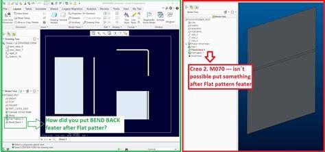 creo flat pattern on drawing solved flat pattern sheet metal drawing ptc user community