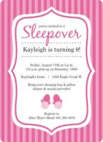 Free Slumber Invitation Templates by Slumber Invitation Template