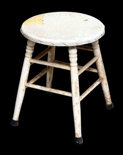 Antique Wooden Stool by Vintage Wooden Stool Olde Things