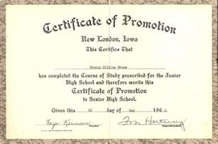 certificate of promotion template 8th grade graduation certificate template quotes