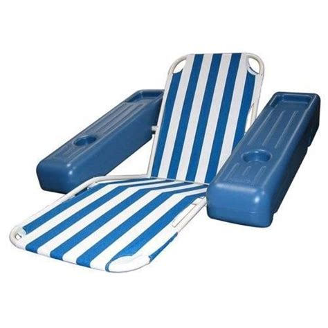 pool floating lounge chairs lounge chair floating tanning swimming pool lounger swim