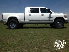 17 ultra 023 chrome wheels on a 2006 dodge dually
