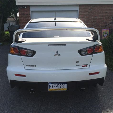 evo wing ez peezy sss wing install on 2010 gsr from lancer wing to